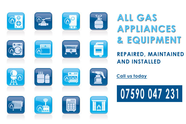 gas services icons